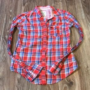 A&F Button Up Flannel